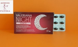 Valeriana Night Forte kapszula 30db