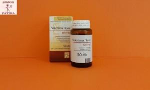 Valeriana Teva 100 mg tabletta