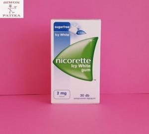 Nicorette Icy White 2mg rágógumi