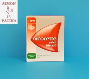 Nicorette tapasz 25mg dohányzás