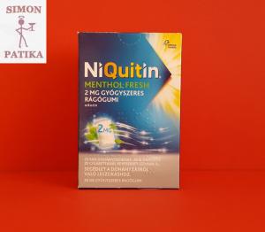 Niquitin 2 mg rágógumi 30 db