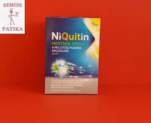 Niquitin 4 mg rágógumi 100db