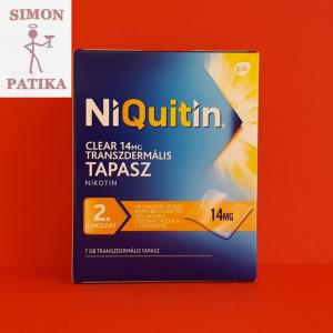 Niquitin tapasz 14mg dohányzás
