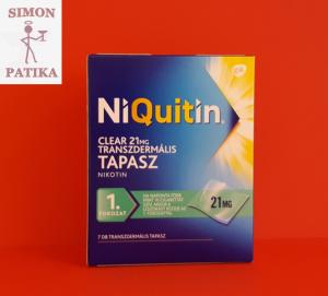 Niquitin tapasz 21 mg