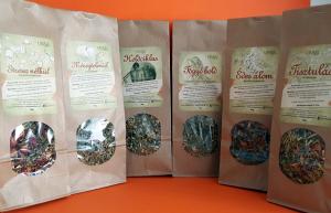 Ujvári gyógynövény  teakeverékek