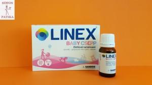 Linex baby csepp probiotikum