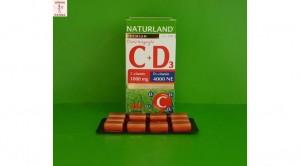 Naturland C+D3 tabletta