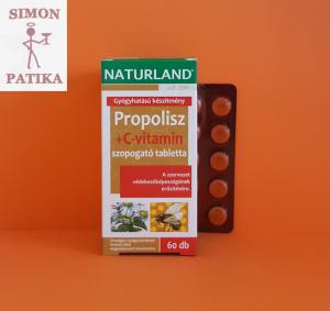 Naturland Propolisz+C tabletta
